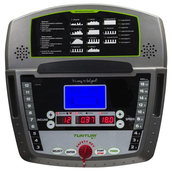 Tunturi 2.1 treadmill for hire